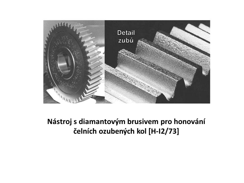 Nástroj s diamantovým brusivem pro honování čelních ozubených kol [H-I2/73]